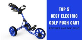 Electric Golf Push Cart Reviews