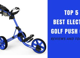 Electric Golf Push Cart Reviews