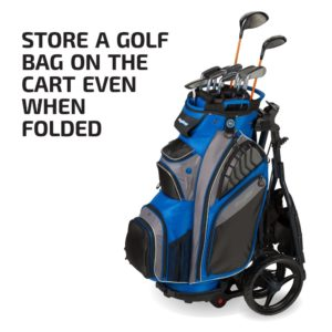 Bag Boy Express DLX Pro Push Cart, Matte Black