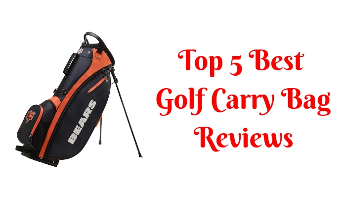 The Best Golf Carry Bag Reviews Top 5 Picks In 2019